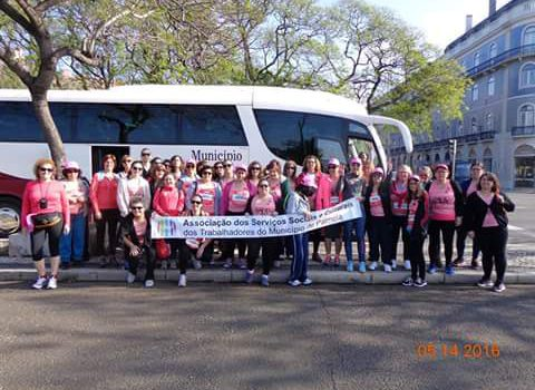 Participação da ASSCTMP na Corrida da Mulher EDP